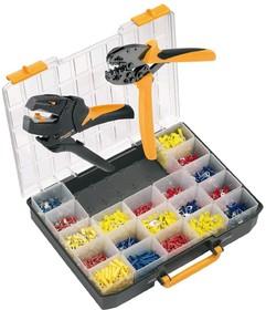 Crimp-Set CTI6, Набор инструмента для обжима (инструмент + наконечники)