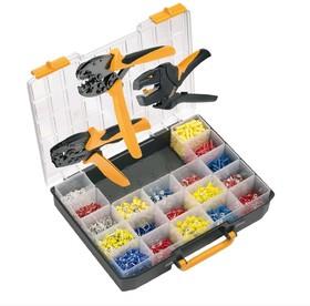 Crimp-Set PZ/CTI, Набор инструмента для обжима (инструмент + наконечники)