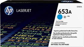 Картридж HP 653A CF321A, голубой