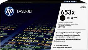 Картридж HP 653X CF320X, черный