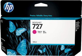 Картридж HP 727 B3P20A, пурпурный