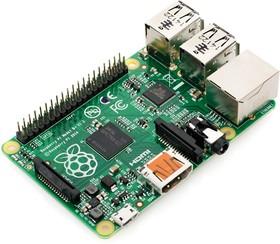 Фото 1/3 Raspberry Pi Model B+, Одноплатный компьютер на базе процессора Broadcom BCM2835