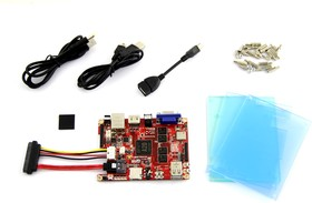 Фото 1/4 Cubieboard 3 / Cubietruck Kit, Одноплатный компьютер на базе SoC AllWinner A20 (Dual-Core ARM Cortex A7)