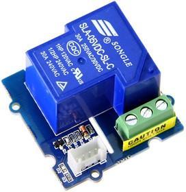 Фото 1/2 Grove - SPDT Relay(30A), Релейный модуль 30А для Arduino проектов