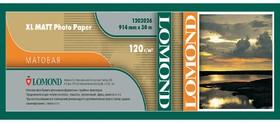 """Бумага Lomond 1202062 36""""(A0) 914мм-30м/120г/м2/белый матовое для струйной печати"""