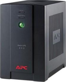 Фото 1/2 BX800CI-RS, Back-UPS BX, Line-Interactive, 800VA / 480W, Tower, Schuko, USB