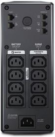 Фото 1/2 BR900GI, Back-UPS Pro, Line-Interactive, 900VA / 540W, Tower, IEC, LCD, Serial+USB
