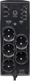 Фото 1/2 BR900G-RS, Back-UPS Pro, Line-Interactive, 900VA / 540W, Tower, Schuko, LCD, Serial+USB