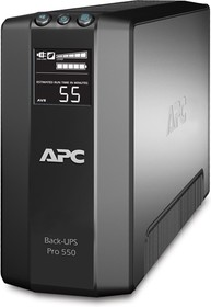 Фото 1/2 BR550GI, Back-UPS RS, Line-Interactive, 550VA / 330W, Tower, IEC, LCD, Serial+USB