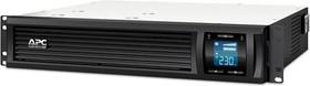 Фото 1/2 SMC1000I-2U, Smart-UPS SC, Line-Interactive, 1000VA / 600W, Rack, IEC, LCD, USB