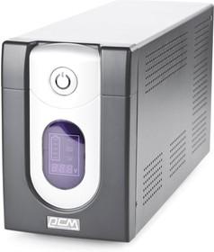 Фото 1/6 IMD-2000AP, Источник бесперебойного питания Powercom Back-UPS IMPERIAL, Line-Interactive, 2000VA / 1200W, Tower,