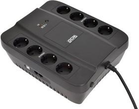 Фото 1/5 SPD-650U, Источник бесперебойного питания Powercom Back-UPS SPIDER, Line-Interactive, 650VA / 390W, Tower, Sch