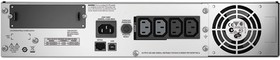 Фото 1/2 SMT1000RMI2U, Smart-UPS SMT, Line-Interactive, 1000VA / 700W, Rack, IEC, LCD, USB, SmartSlot