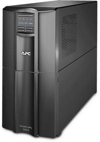 Фото 1/2 SMT3000I, Smart-UPS SMT, Line-Interactive, 3000VA / 2700W, Tower, IEC, LCD, Serial+USB, SmartSlot