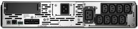 Фото 1/2 SMX3000RMHV2UNC, Smart-UPS SMX, Line-Interactive, 3000VA / 2700W, Rack/Tower, IEC, LCD, Serial+USB, SmartSlot, подкл.