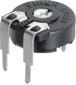 PT10LV10-251A2020-S, Подстроечный потенциометр, Vertical Adj, 250 Ом, 1 виток(-ков), Сквозное Отверстие, PT-10 Series