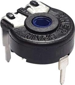 PT10MV10-504A1010-S, Подстроечный потенциометр, Vertical Adj, 500 кОм, 1 виток(-ков), Сквозное Отверстие, PT-10 Series