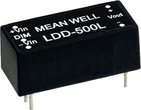 LDD-600L, DC/DC LED, блок питания для светодиодного освещения