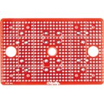 Фото 2/2 PCB mil, Печатная макетная плата 85,6x55,6, двухсторонняя с металлизацией, с крепежными отверстиями
