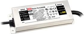 ELG-75-36B-3Y, AC/DC LED, блок питания для светодиодного освещения