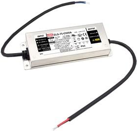 ELG-75-C500A-3Y, AC/DC LED, блок питания для светодиодного освещения
