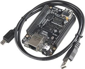 Фото 1/4 BeagleBone Black Rev C, Одноплатный компьютер на основе CPU AM3358 с ядром ARM Cortex-A8