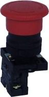 "NP2-ES442 (30мм), Кнопка ""грибок"" с фиксацией красная OFF-ON пласт."