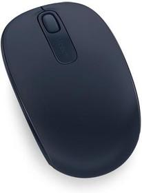Мышь MICROSOFT Mobile Mouse 1850 оптическая беспроводная USB, синий [u7z-00014]