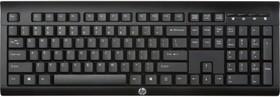 Клавиатура HP K2500, USB, Радиоканал, черный [e5e78aa]