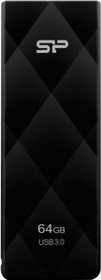 SP064GBUF3B20V1K, Флэш-диск 64 Gb Blaze B20 Black USB 3.0