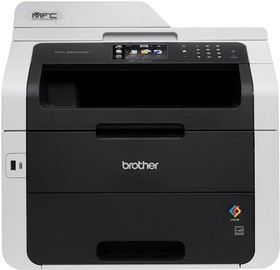 МФУ BROTHER MFC-9330CDW, A4, цветной, светодиодный, черный [mfc9330cdwr1]