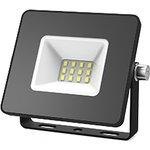 Прожектор светодиодный СДО LED 10Вт 6500К IP65 черный | 613100310 | Gauss