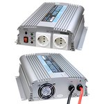 A301-1K0-F3, DC/AC инвертор, 1000Вт, вход 12В, выход 230В(преобразователь автомобильный)