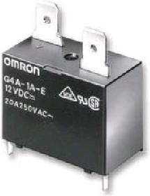 G4A1AE12DC, Реле 1 зам. 12VDC 20A/250VAC | купить в розницу и оптом