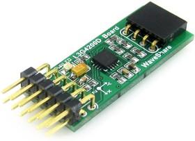 Фото 1/5 L3G4200D Board, Датчик движения (3-осевой гироскоп) на базе L3G4200D, интерфейс I2C/SPI
