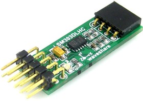Фото 1/5 LSM303DLHC Board, Электронный компас (3D акселерометр, 3D магнетометр) на базе LSM303DLHC, интерфейс I2C