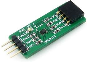 Фото 1/5 MAG3110 Board, Цифровой магнетометр 3-осевой на базе MAG3110, интерфейс I2C