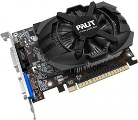 Видеокарта PALIT GeForce GT 740, NEAT7400HD41-1070F, 2Гб, DDR3, Low Profile, oem