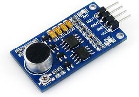 Фото 1/6 Sound Sensor, Датчик звука, усилитель LM386, аналоговый и цифровой выход