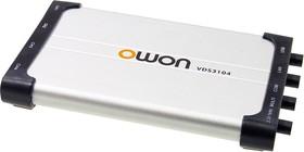 VDS3104, осциллограф-приставка к ПК 4кан 100МГц 1Гв/с