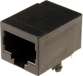 TJ9-8P8C, розетка телеф. на плату тип 9