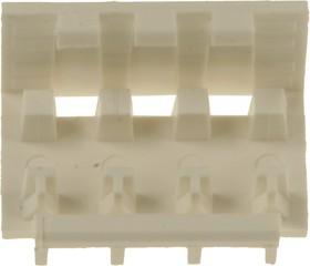 Фото 1/3 643067-4, крышка для MTA-156 кабельных розеток на 4 конт.