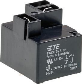 T9AS1D22-12, 1-1419104-7, реле 1 Form A 12В 30А/277В