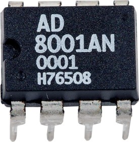 AD8001AN, 800MHz 50mV Current Feedback Amplifier dip