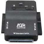 "Адаптер-переходник для HDD AgeStar 3FBCP1 IDE SATA пластик черный 2.5"" 3.5"""