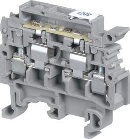 Клемма M4/8.SFL винт 4мм.кв. держатель предохранителя 5х20, 5х25 мм, неон. индикатор сгор. предохран. 110-230В | 1SNA115661R2100 | TE