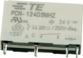 Фото 1/2 3-1461491-6, Power Relay 24VDC 3A SPST-NO(20mm 5mm 12.4mm) THT