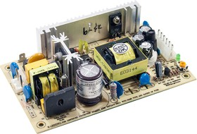 HF45W-SPL-24, источник питания AC-DC 24B, 45Вт 127х76.2х27 (PS-45-24)