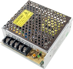 HF50W-SSM-24 источник питания AC-DC 24B, 50Вт 99х97х36 (RS-50-24)