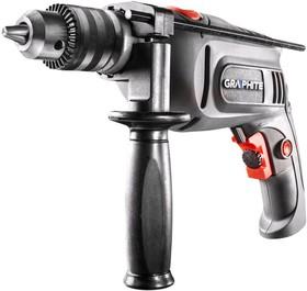 58G715, Дрель ударная 550 Вт, ключевой патрон 13 мм